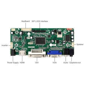 """Image 3 - HDMI Audio LCD Controller Board Fit to DIY Parts 17"""" M170ETN01.1 WYD170SKD 01 LCD Monitor"""