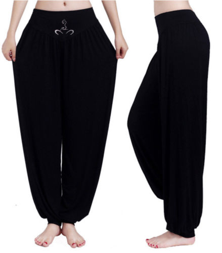 2019 New Trendy Harem Gypsy Hippie Baggy Pants Women Trousers Boho Casual Solid Color Loose Ladies Clothes Plus Size  One Piece