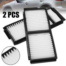Автомобильные фильтры Комплект 2шт белый салонный воздушный фильтр для Mazda 3 Mazda 5 OEM: BP4K-61-J6X