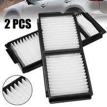 Automobiles Filters Set 2pcs White Cabin Air Filter For Mazda 3 5 OEM:BP4K-61-J6X