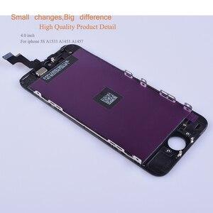 Image 4 - 10 unids/lote para iphone 5 SE 5C 5S reemplazo del digitalizador de pantalla táctil para iphone 5 S monitor LCD SE completa
