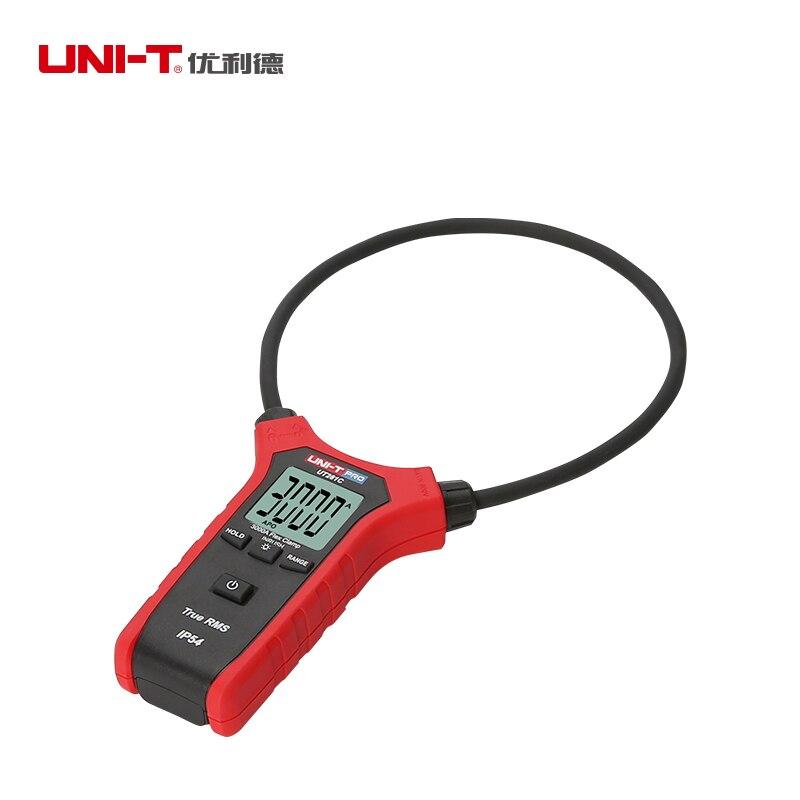 UNI T UT281C 3000A Flexível Digital clamp meter True rms AC inrush atual braçadeira amperímetro IP54 Data hold backlight auto poder off - 2
