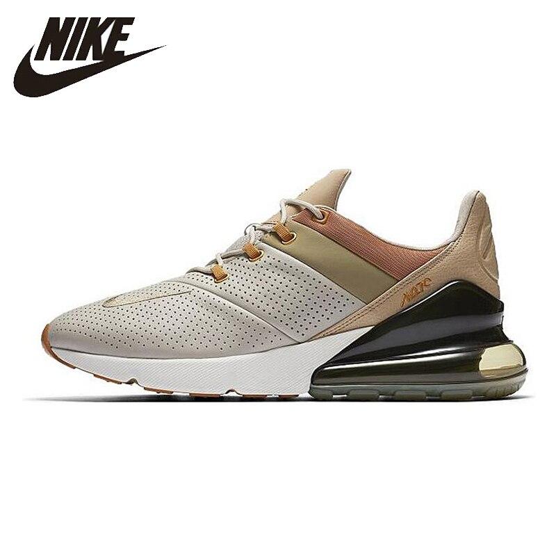 Nike air max 270 premium original nova chegada tênis de corrida respirável durável dos homens ao8283