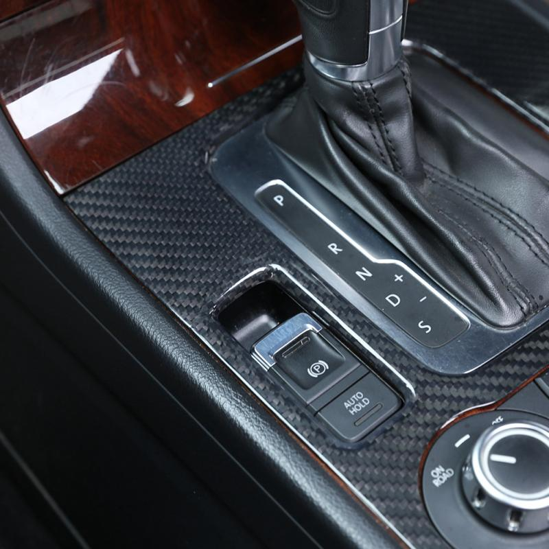Car Center Console Gear Shift Panel Box Cover Trim For Vw Touareg