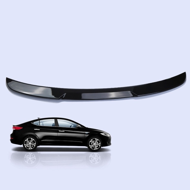 Car Styling Auto Mouldings Modification Accessory protector Automovil Upgraded Exterior Spoilers 16 17 18 FOR Hyundai Elantra