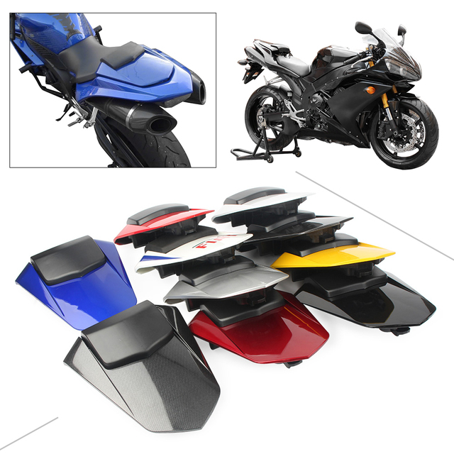 YZF R1 2007-2008 غطاء خلفي للمقعد الخلفي للمقعد الخلفي GZYF قطع غيار الدراجات النارية لياماها 2007 2008 بلاستيك ABS