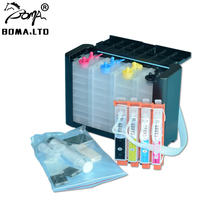 BOMA.LTD NEWEST 904 904XL Continuous Ink Supply System For HP904 Ciss Permanent Chip HP OfficeJet 6950 6951 6956 6958 6954
