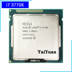 Intel Core i7-3770K i7 3770K 3.5 GHz Quad-Core CPU Processor 8M 77W LGA 1155
