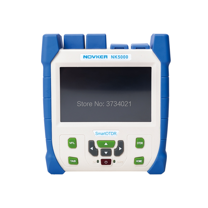 Nk5000 Smart-OTDR, SM 1310-1550nm-28/26dB, 1.5M Event blind zone, VFL 5MW Touch Screen Smart Optical Time Domain Reflectometer
