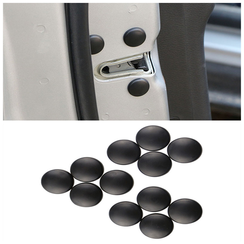 Zlord Car Door Lock Screw Protector Sticker Cover Cap for KIA K2 K3 K4 K5 Sorento Sportage Optima Rio Ceed Cerato Venga image