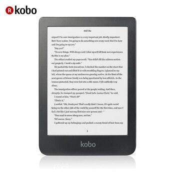 Kobo Clara HD EReader, 6 Inci E Tinta Carta, 8 GB, Usb Mikro Negro