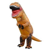 Kids Inflatable costume Dinosaur Costume Dino cartoon characters fancy dress Costume Blow Up animal mascots Cosplay