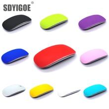 צבע סיליקון עכבר עור עבור קסם mouse2 עכבר מגן סרט כיסוי נגד שריטות סרט לשפשף מרגיש עבור apple קסם עכבר