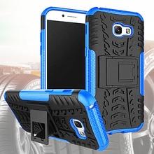Silicone Case For Samsung Galaxy A5 2017 A3 A7 Hybrid Heavy Duty ShockProof Cover Cases For Samsung Galaxy A3 2017 A7 A5 Case кейс для назначение ssamsung galaxy a5 2017 a3 2017 прозрачный с узором кейс на заднюю панель слон мягкий тпу для a3 2017 a5 2017