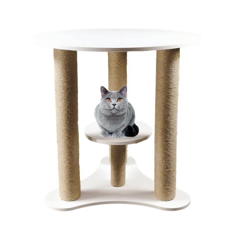 Animal de compagnie chat escalade cadre jouet Style nordique solide en bois chat escalade arbre bureau animal de compagnie chat attraper escalade formation éducation jouet nouveau