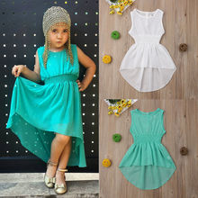 Brand New Toddler Kid Baby Girl Dress Chiffon Princess Pageant Party Tutu Dresses 6M-5Y Lovely Baby Girl Clothes