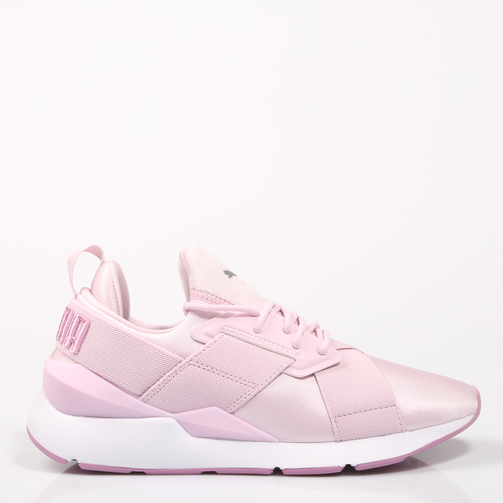 online retailer 698ea e63d6 US $97.78 |PUMA MUSE SATIN II sneaker, pink, woman 67530-in Running Shoes  from Sports & Entertainment on Aliexpress.com | Alibaba Group