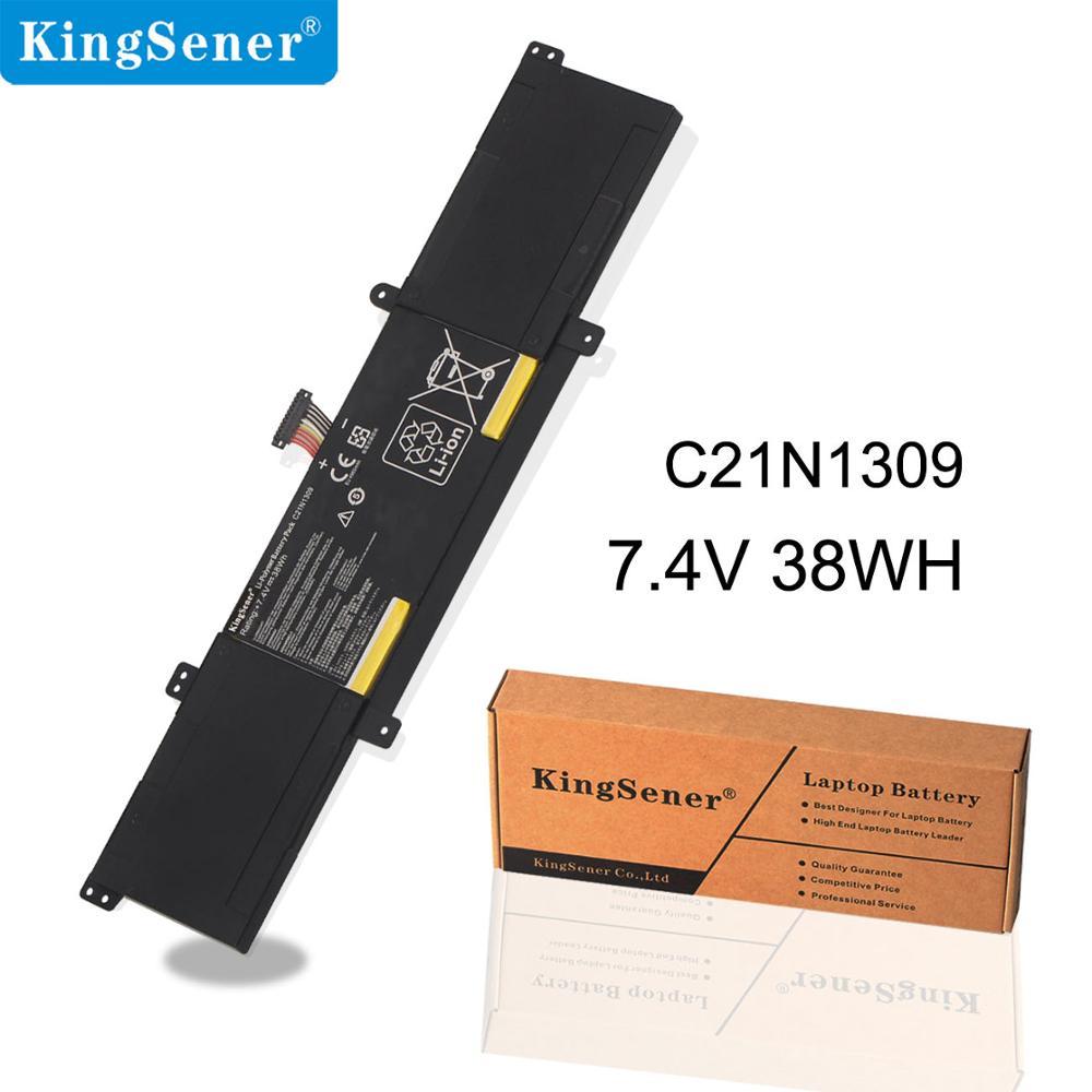 KingSener C21N1309 Laptop Battery For ASUS VivoBook S301LA S301LP Q301L C21PQ2H 0B200 00580100M Tablet 7.4V 38Wh