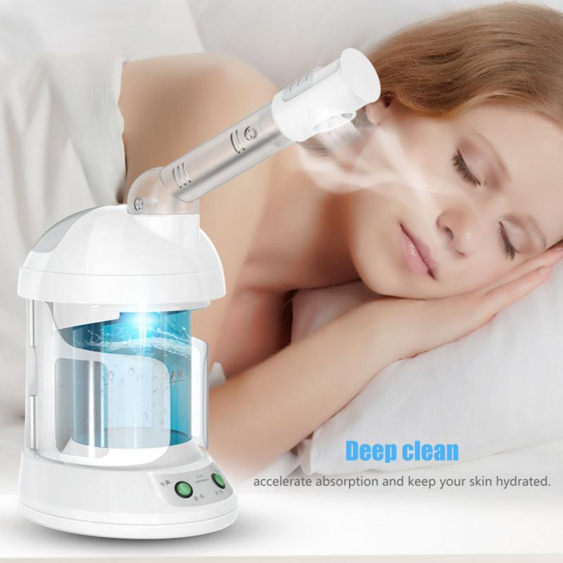 Face Sprayer Vaporizer Beauty Salon Skin Care Instrument: Electric Mist Face Steamer Vaporizer Humidifier