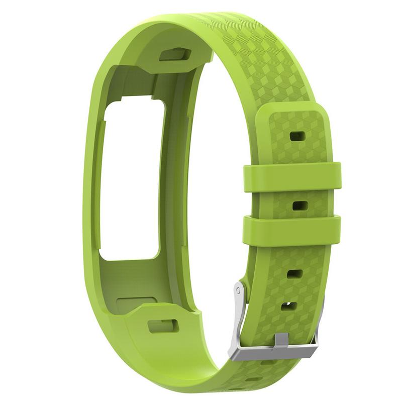 Image 4 - Comfortable Watch Band Silicone Replacement Wrist Strap Breathable Soft Bracelet For Garmin VivoFit 1 Generation 2 Generation-in Smart Accessories from Consumer Electronics