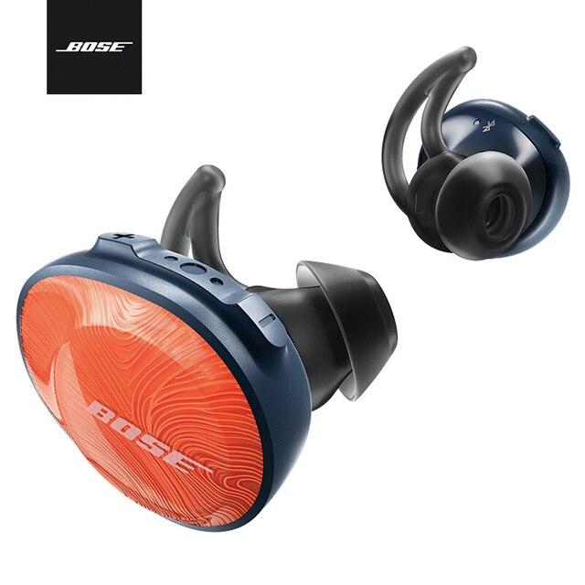 Bose SoundSport Free True Wireless Bluetooth Headphones TWS Earbuds  Sweatproof Sport Headset Music Earphone with Mic 35648a6e2c