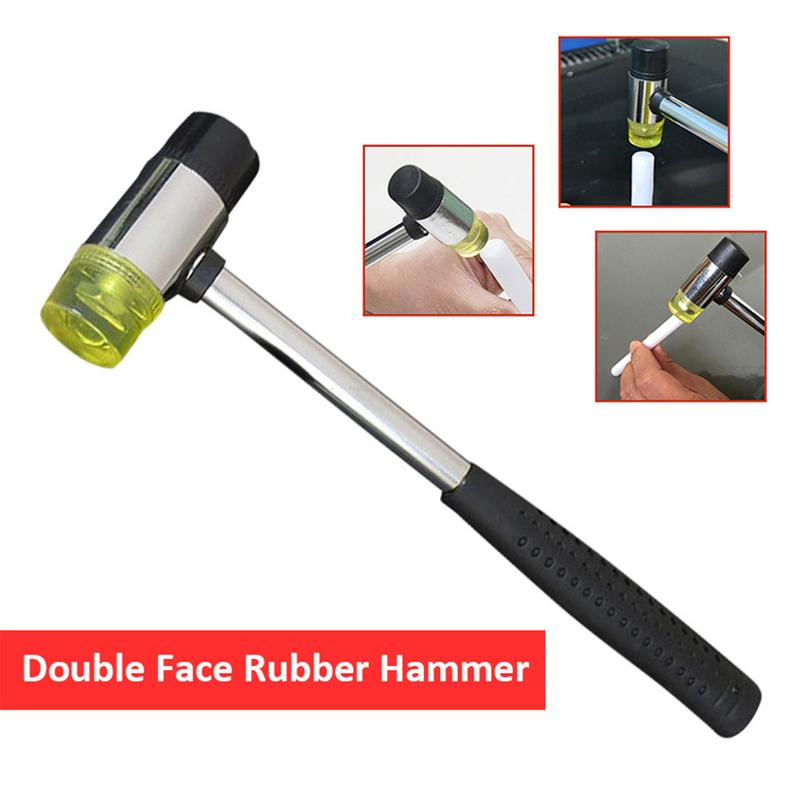 30//35//40mm Rubber Double Face Window Hammer Head Mallet Glazing Install Repair