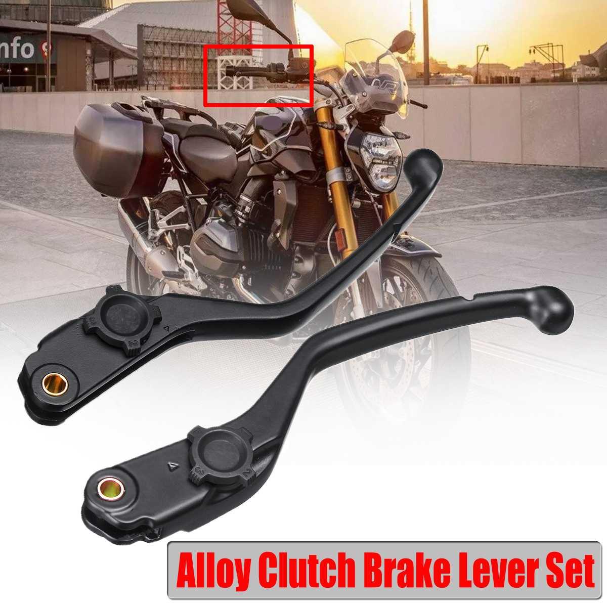 Une paire de leviers d'embrayage de frein de moto en alliage pour BMW R1200GS R1200RT R1200R R1200RS Adventure K1600 GT/GTL 13-18 ensemble de leviers de frein