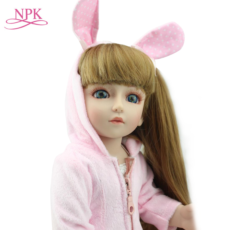18 Lovely Fashion BJD doll 45cm BJD Reborn Joint doll 1/4 BJD/SD girl Dollhouse Toys birthday gift babies Reborn baby doll18 Lovely Fashion BJD doll 45cm BJD Reborn Joint doll 1/4 BJD/SD girl Dollhouse Toys birthday gift babies Reborn baby doll