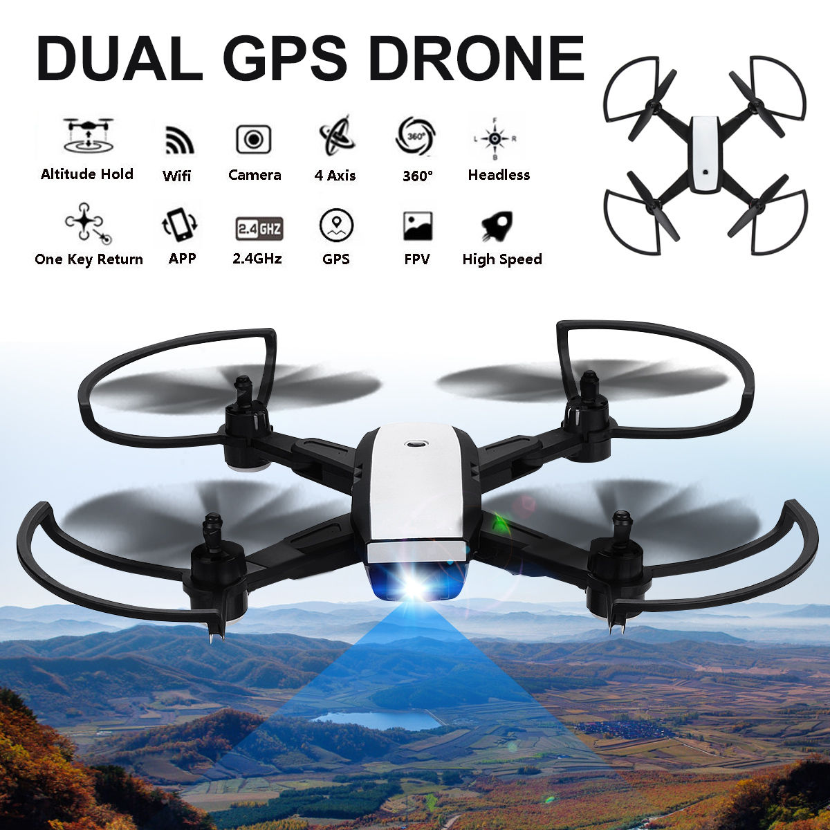 Mini Toy Drones Camera Drones 720P HD Transmission Camera APP Remote Control FPV RC Quadcopter Drones RC Helicopters drones cd