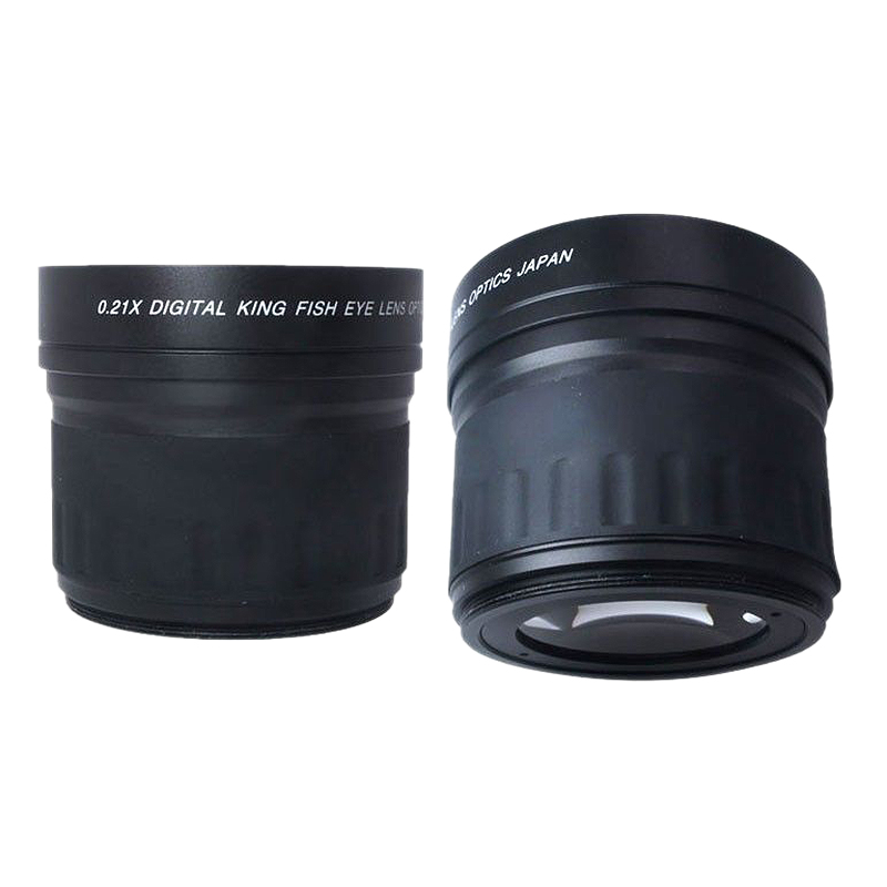 Image 5 - 52mm 0.21X Fisheye Wide Angle Macro Lens For Nikon Canon Digital DSLR Camera-in Camera Lens from Consumer Electronics