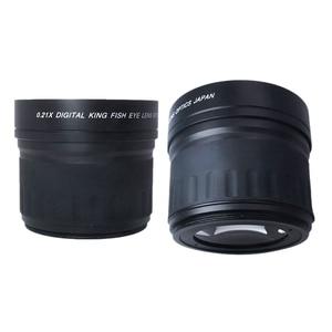 Image 5 - 52mm 0.21X Fisheye Wide Angle Macro Lens For Nikon Canon Digital DSLR Camera