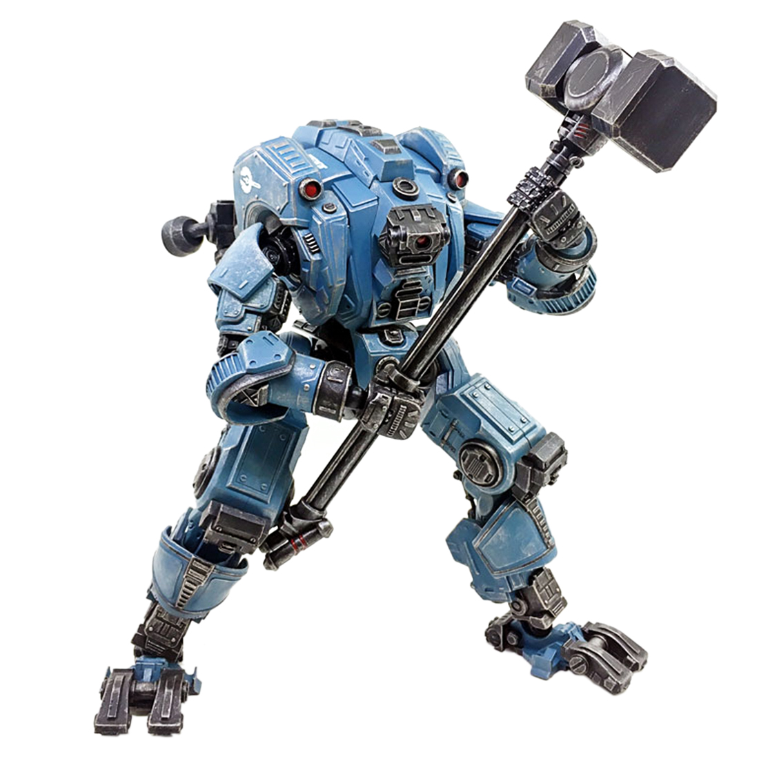 Mecha Model Building Kits Pangu DIY 3D Assembly Fine Soldier Model With High Degree Of Reduction