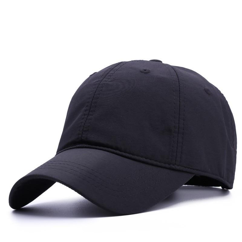 Big Head Man Large Size Baseball Hats Summer Outdoors Thin Dry Quick Sun Hat Men Cotton Plus Size Sport Cap 56-60cm 60-64cm