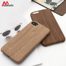 Moskado Wood Grain Phone Case For iPhone