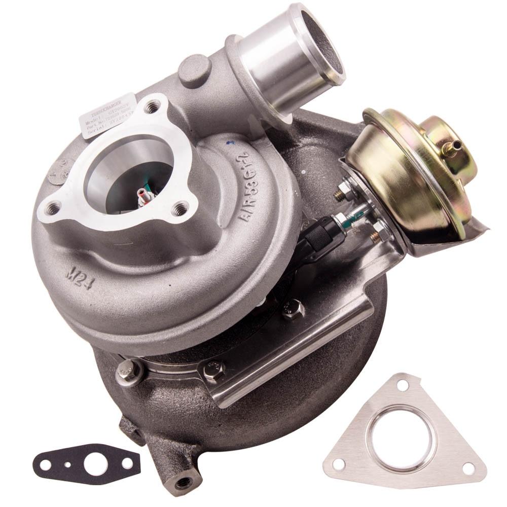 Pour Nissan Patrol DI 3.0L ZD30DDTI GT2052V 14411-2X900 Huile Turbo Turbocompresseur 724639 14411-VB100 14411-VS40A 705954 Turbine