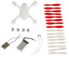 Hubsan X4 H107D Crash pack FPV quadcopter parts rc spare parts for quadcopter with body propeller 3.7V lipo battery