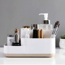 Makeup Organizer Cosmetic Storage Box Dressing Table Skin Care Products