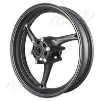 GSXR600/750 Motorcycle Front Wheel Rim For Suzuki GSXR 600/750 2008 2009 2010 & GSXR 1000 2009 2016 Matte Black Alloy
