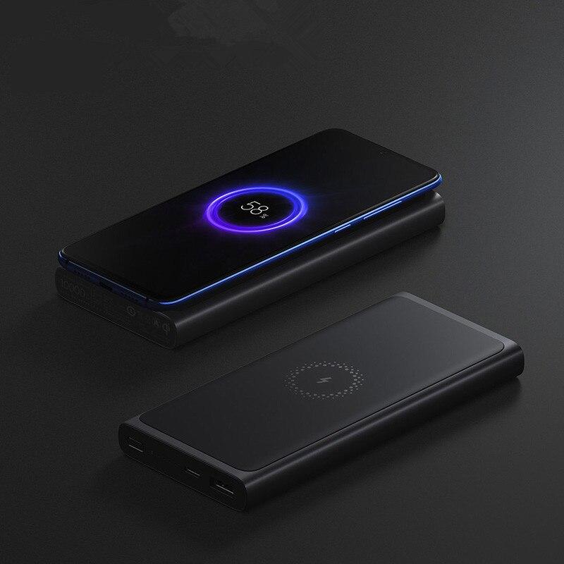 Chargeur sans fil rapide de batterie externe de xiaomi 10000 mAh avec la USB type C pour la banque externe portative de Charge rapide de téléphone Portable
