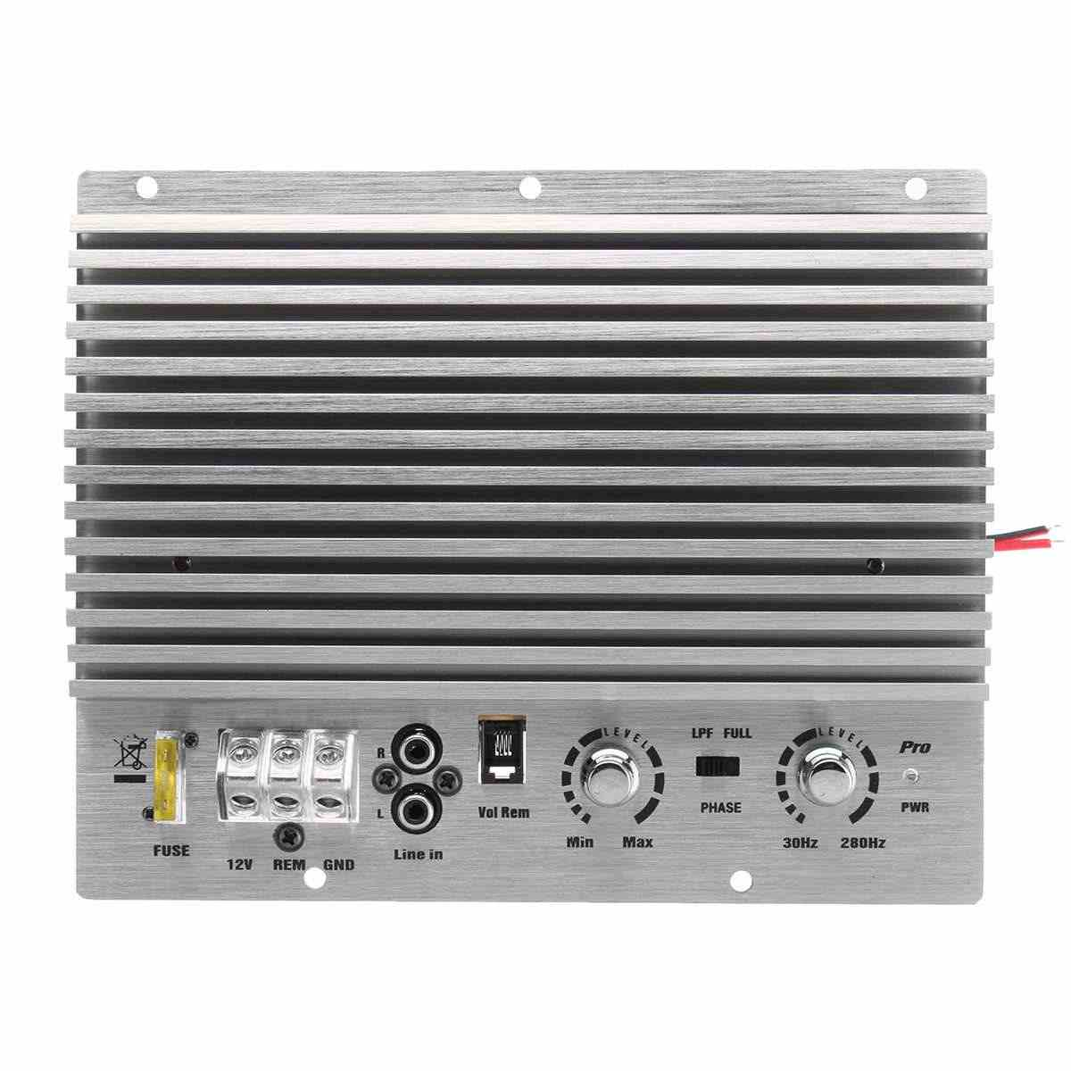 1 шт. 12 В 1000 Вт моно автомобильный аудио усилитель высокой мощности плата мощный бас сабвуфер усилитель 213 мм x 173 мм