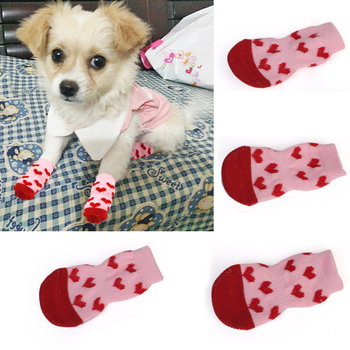 Puppy Dog Shoes Cute Cartoon Non-Slip Dog Shoes