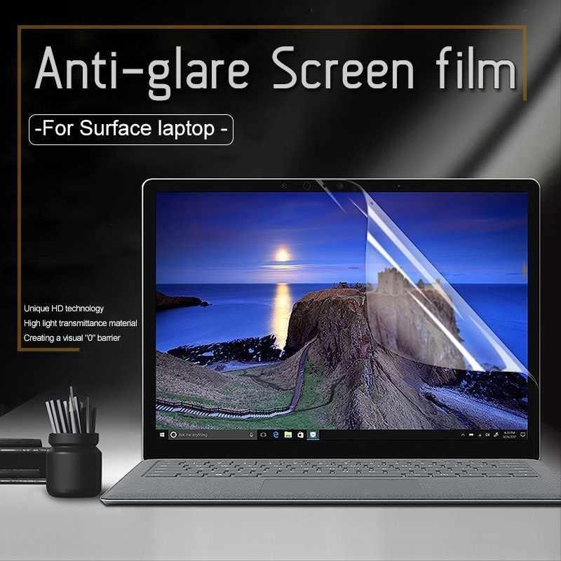 Película protectora de pantalla de ordenador portátil antideslumbrante para Microsoft Surface Laptop 13,5 pulgadas fácil de pegar polvo a prueba de arañazos prueba de membrana