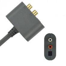 DOITOP Für XBOX360 ALLE Versionen Audio Adapter Kabel Adapter HDMI AV Kabel Für Microsoft XBOX 360 65NM Dünne 45NM