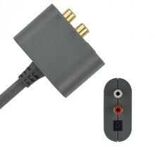 DOITOP For XBOX360 모든 버전 오디오 어댑터 케이블 어댑터 HDMI AV 케이블 코드 Microsoft XBOX 360 65NM Slim 45NM