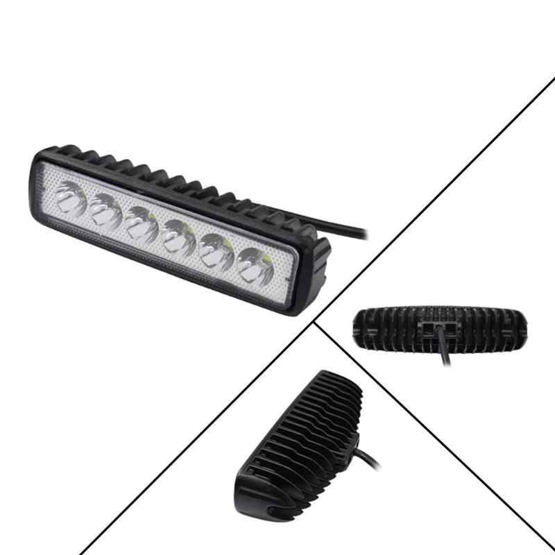 18W 6 inch LED Work Light Bar Flood Beam Offroad Car Motorcycle Boat Truck Driving Fog Lamp Light Bar/Work Light