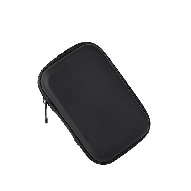 Portable Protector Cover Earphone Charging Cable Drive Oval Style Bags Delicate Shockproof Protective Zipper Pouch Storage Box-in Earphone Accessories from Consumer Electronics