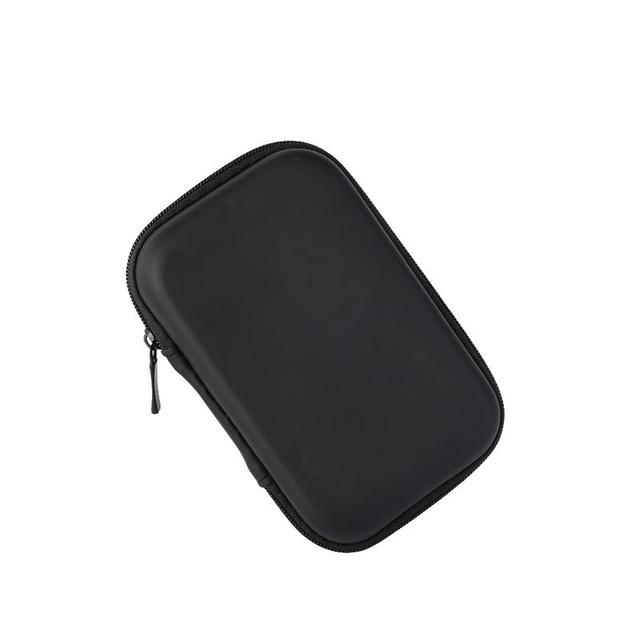 Portable Protector Cover Earphone Charging Cable Drive Oval Style Bags Delicate Shockproof Protective Zipper Pouch Storage Box
