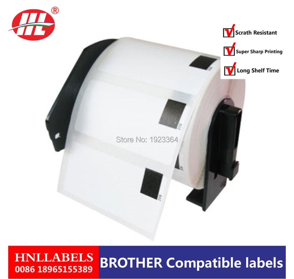 100X Rolls Brother Compatible Labels DK-11209 29x62mm Thermal Paper Stickers Dk 11209 Dk 1209 Dk11209 Dk1209 Small Address Label