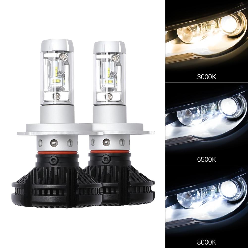 Car Headlight Bulbs(led) 2pcs 9005 8000k Dc12v Ice Blue Cool Bright Cob Led Fog Lamp Headlight Bulbs