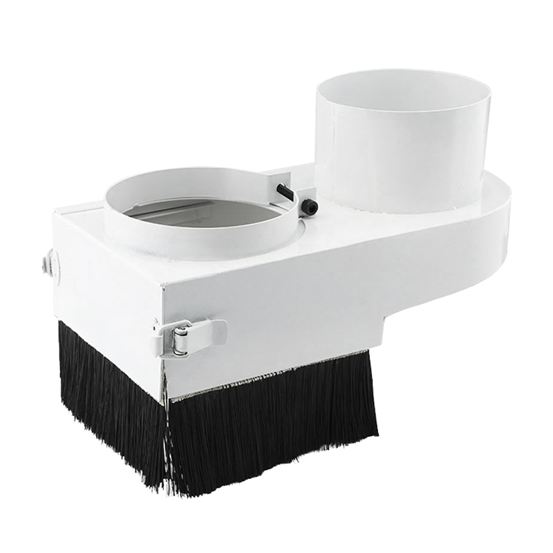 Retail price 85mm/65mm/80mm Dust Collector Dust Cover Brush For CNC Spindle Motor Milling Machine Router Tools